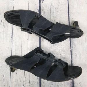 DONALD J PLINER | kitten heel slip-on sandal